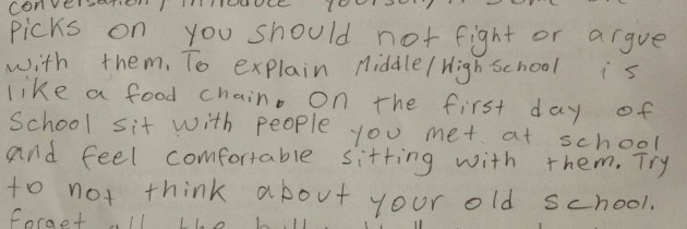 Kiara Needs Help, and Hackett Middle School Answers the Call
