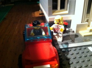 """Hmmm. Giovanni has a shiny new car. Patricio has baggage."""