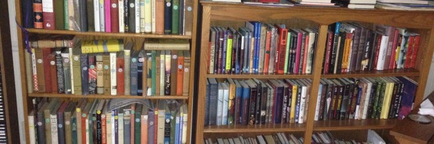 Ed Spicer Has a Lot of Books