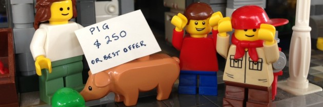 The Tragic Tale of Lego Piggy: Point of View
