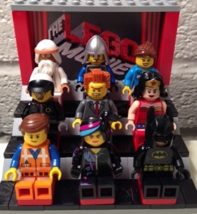 Characters from The LEGO Movie