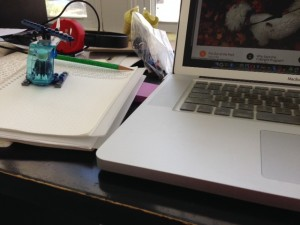 """Perhaps the question should be, """"Why is your desk such a mess?"""" or """"How can you find anything?"""""""