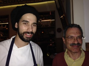 Richard (right) with the chef of Casa de Pasto.