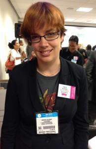 Dutch author and activist Marieke Nijkamp.