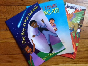 Three recent books by award-inning author and self-publishing advocate Zetta Elliott.