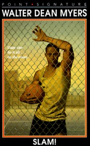 My son played basketball in middle school, and Slam was his first encounter with Myers's work. He was hooked.