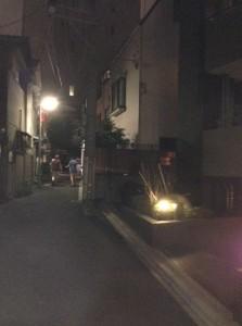 Giro Giro's Kyoto restaurant is on a quite neighborhood street.