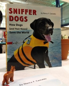 Wannabee the Dog wishes she could be in the book, but her molded plastic nose just isn't good enough.