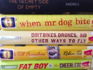 Books form the library and one from my own collection, reviewed in the spring.