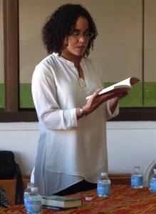 Zetta Elliott reads about Mariqua's holiday angel.
