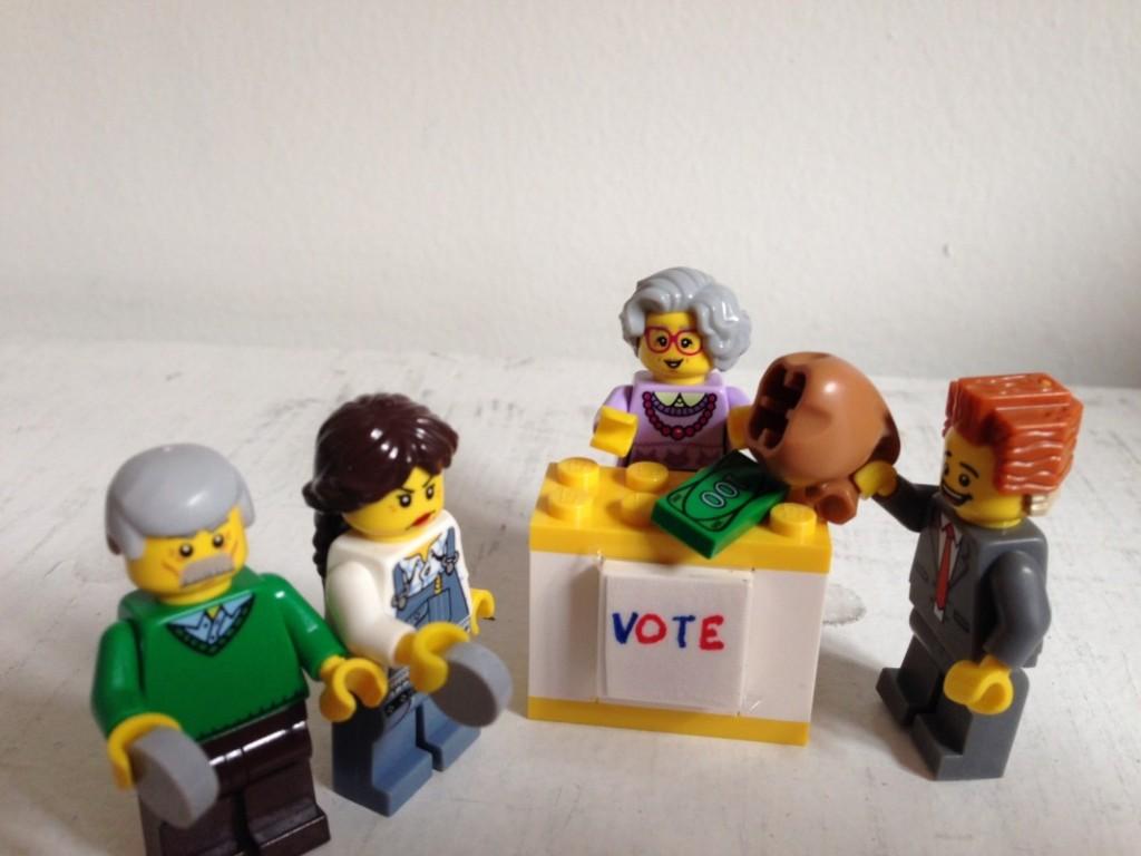 Voting now.