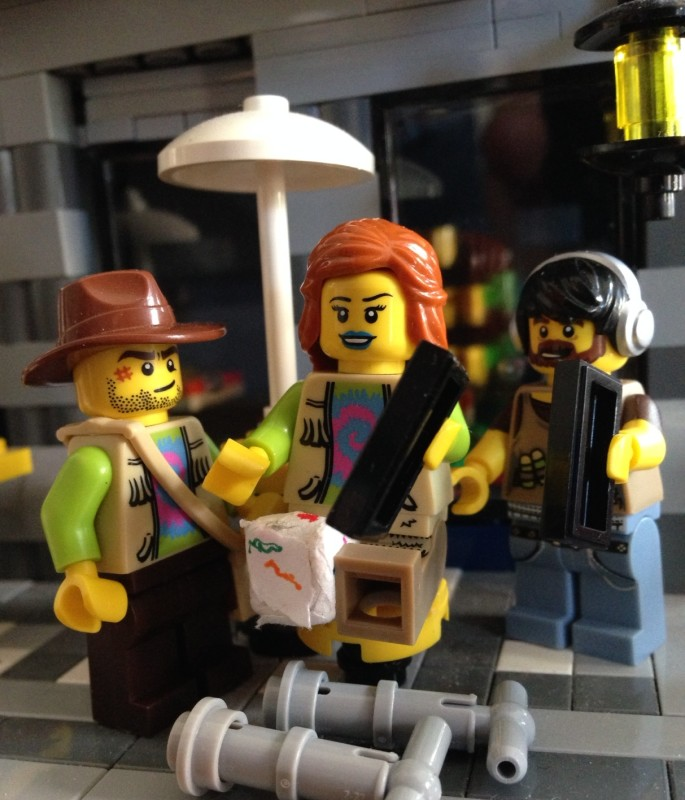 Siggy, her brother, and Ernesto eagerly await the next episode of Brickland. Will we see @thecourtous alive again?