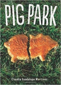 I'd love to see Claudia Guadalupe Martinez's Pig Park, from small press Cinco Puntos, in the vending machine.