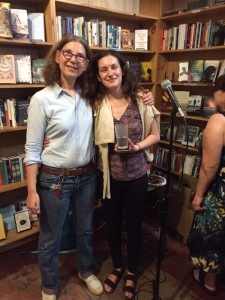 With daughter, Maddy, who at age 16 was Surviving Santiago's first reader. She contributed a chapter that later got cut.