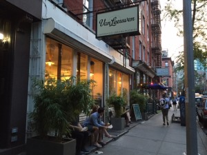 Van Leeuwen's Manhattan parlor on E. 7th St. between First and Second Avenues.