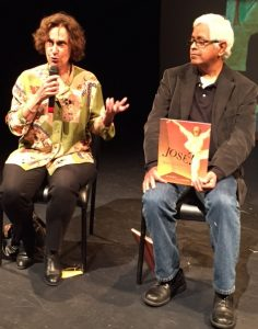 Susanna Reich and Raúl Colón show off their award-winning picture book biography José! Born to Dance.