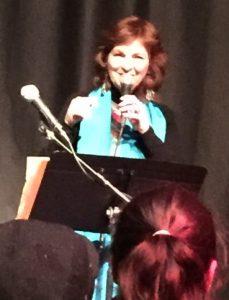 Carmen Tafolla performs the following night at the Nuyorican Poets Café.