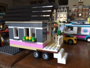 Inspired by HGTV's Tiny House Hunters, I made my own Lego Tiny House.