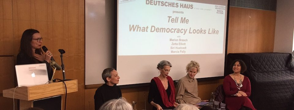 "PEN World Voices Festival 2018: ""Tell Me What Democracy Looks Like"""