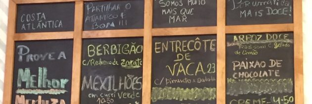 Richard's 2018 Restaurant Reviews in Lisbon and Beyond