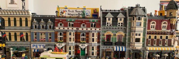 Potemkin Lego Village